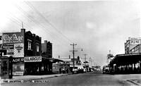 Springvale main street in the early fifties.