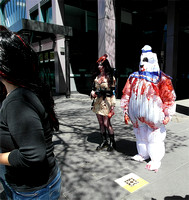 Melbourne zombie shuffle 2013