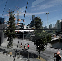 The Melbourne Convention and Exhibition Centre at South Wharf