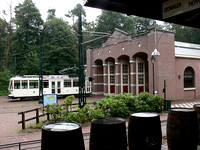 A wet day at the Open Air Museum in Arnhem